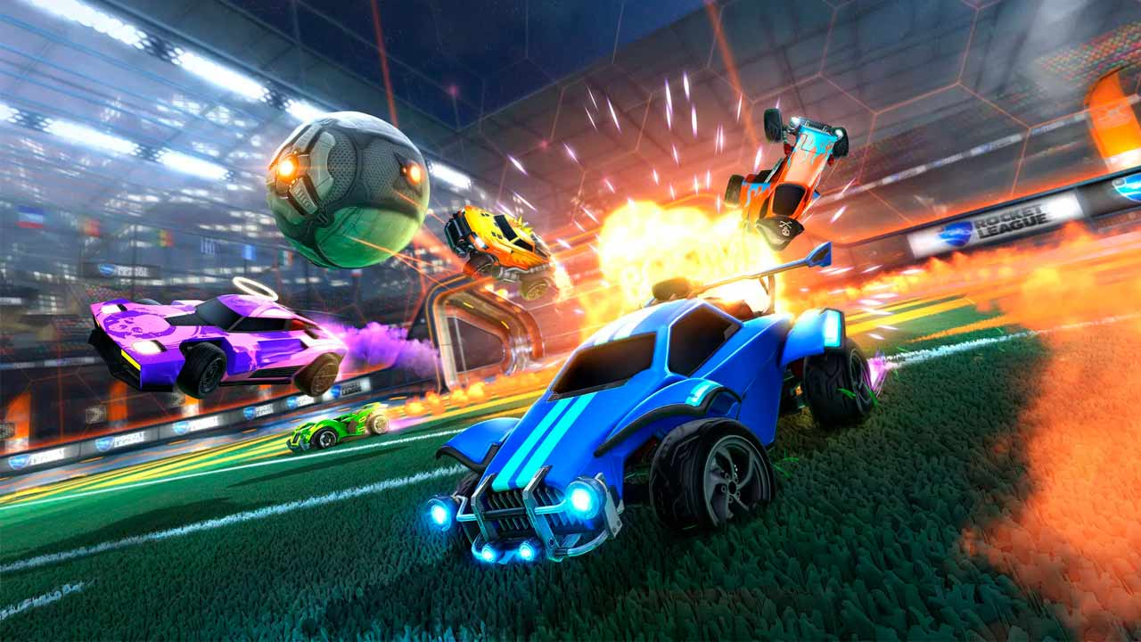 Rocket League se volverá un juego gratuito y exclusivo de Epic Games Store